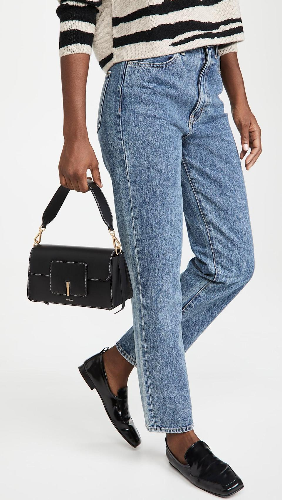 <p>The <span>Wandler Georgia Bag</span> ($850) just might be one of our favorite choices. The shoulder strap is the perfect length, but it also comes with a longer crossbody strap as well.</p>