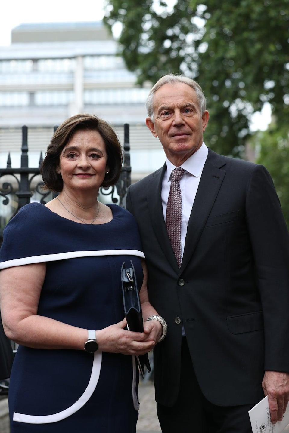 Former prime minister Tony Blair and his wife Cherie have defended their purchase (Yui Mok/PA) (PA Archive)
