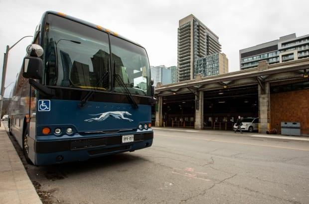 Greyhound announced Thursday it is cancelling all bus service in Canada permanently. (Michael Wilson/CBC - image credit)