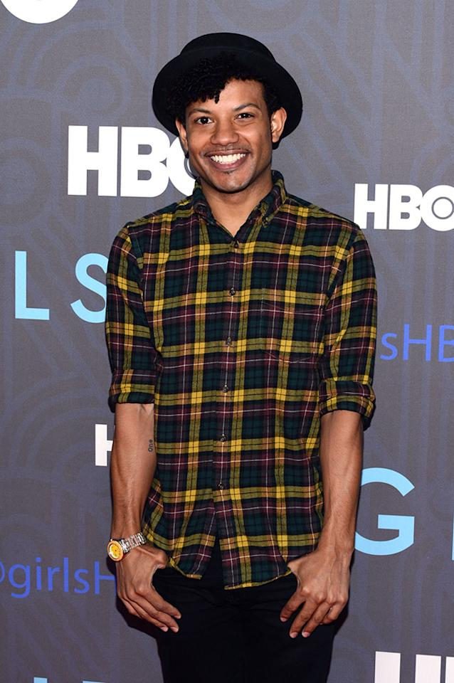 "Jaime Cepero attends HBO's premiere of ""Girls"" Season 2 at the NYU Skirball Center on January 9, 2013 in New York City."