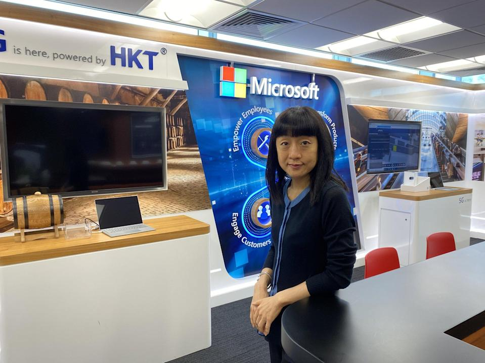 The flexible way of work can improve productivity and boost innovations, says Cally Chan, general manager of Microsoft Hong Kong and Macau. Photo: Lam Ka-sing