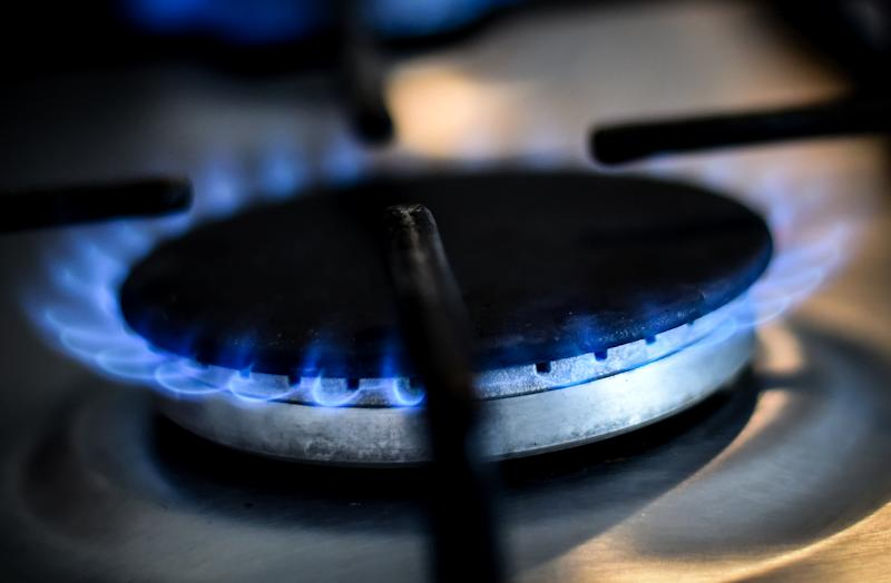 A generic stock image of a gas ring on a home cooker in London.
