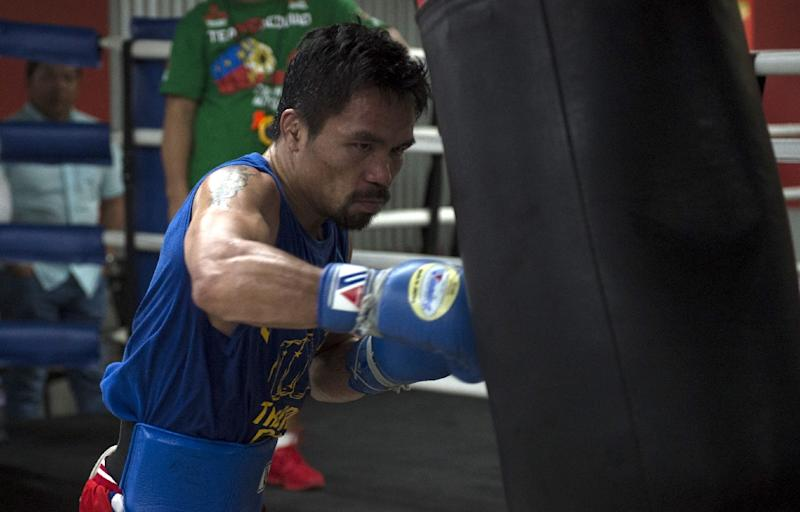 Officials in Queensland are in negotiations to bring champion boxer Manny Pacquiao to the state to fight Australian Jeff Horn