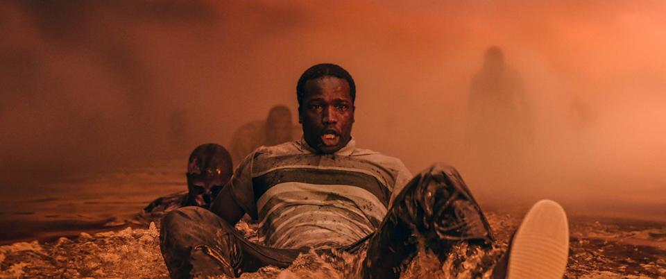 """<p>The 2020 British film <strong>His House</strong> follows a couple that struggles to settle into their new town in England after fleeing from South Sudan. As the two begin to discover hauntingly strange events occurring in their new home, they are also introduced to the evil spirit embedded inside.</p> <p>Watch <a href=""""https://www.netflix.com/title/81231197"""" class=""""link rapid-noclick-resp"""" rel=""""nofollow noopener"""" target=""""_blank"""" data-ylk=""""slk:His House""""><strong>His House</strong></a> on Netflix now.</p>"""
