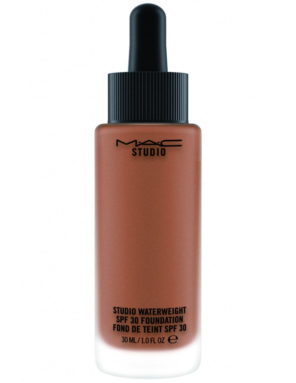 """<p>As one of the a few pioneers in getting foundation shades right for deeper complexions from the beginning, MAC Cosmetics it at again with this feather-light foundation, available in a variety of rich hues. This double-duty formulation offers just the right amount of coverage while also delivering a decent amount of protection from harmful UV rays. $34, <a rel=""""nofollow noopener"""" href=""""http://www.maccosmetics.com/product/13847/37094/Products/Makeup/Face/Foundation/Studio-Waterweight-SPF-30-Foundation"""" target=""""_blank"""" data-ylk=""""slk:MACCosmetics.com"""" class=""""link rapid-noclick-resp"""">MACCosmetics.com</a>. </p>"""