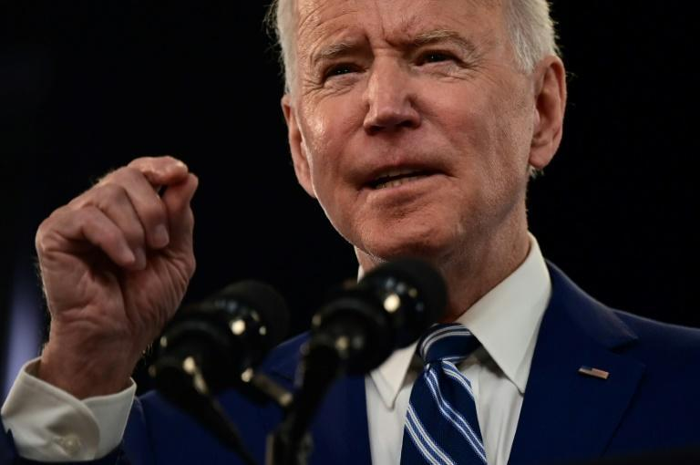 "Biden warned ""the war against Covid-19 is far from won,"" and blasted people responsible for ""reckless behavior we've seen on television over the past few weeks"" that had left the world's worst-hit country on the brink of a fresh surge"