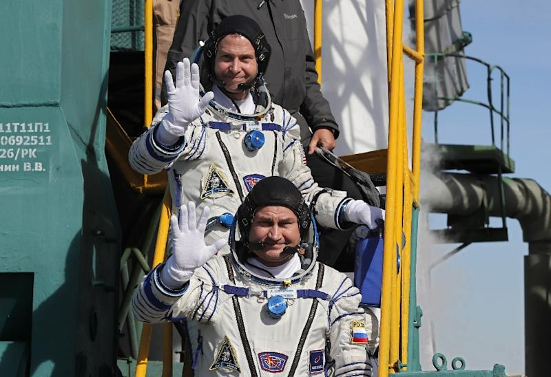 Russian, US astronauts survive rocket failure in space station launch