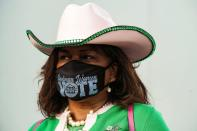 FILE PHOTO: Early voting begins in Texas