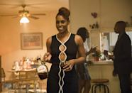 <p>I love a good dress up moment and this LBD from season two perfectly compliments Issa's style. The cut outs of this dress are great for a night out or a dinner party.</p>