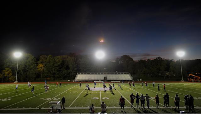 An assistant coach lodged a death threat against an official after a no-call involving his son. (Photo by John McDonnell/The Washington Post via Getty Images)