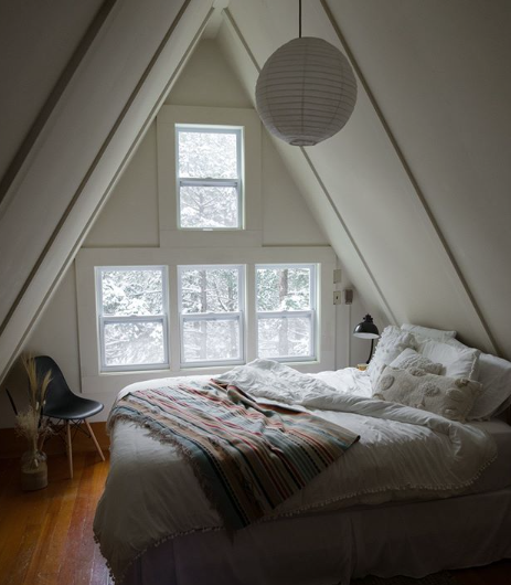 """<p>Want to try out a bohemian staycation? Book the <a href=""""https://thevermontaframe.com"""" rel=""""nofollow noopener"""" target=""""_blank"""" data-ylk=""""slk:Vermont A-Frame"""" class=""""link rapid-noclick-resp"""">Vermont A-Frame</a> which sits on the edge of the Green Mountain National Forest in southern Vermont. This Instagram-perfect lodging is for the staycationer who wants great views from the comfort of a cozy bed. While in Southern Vermont, check out <a href=""""https://hildene.org"""" rel=""""nofollow noopener"""" target=""""_blank"""" data-ylk=""""slk:Hildene, The Lincoln Family Home"""" class=""""link rapid-noclick-resp"""">Hildene, The Lincoln Family Home</a>. Known as the home of the only surviving child of President Abraham and Mary Todd Lincoln, Hildene is chock-full of cool artifacts, and perfect for those history buffs. Another great spot is the <a href=""""https://www.dorsetfarmersmarket.com"""" rel=""""nofollow noopener"""" target=""""_blank"""" data-ylk=""""slk:Dorset Farmers Market"""" class=""""link rapid-noclick-resp"""">Dorset Farmers Market</a>—locals say the best time to head over is Sunday mornings. </p>"""