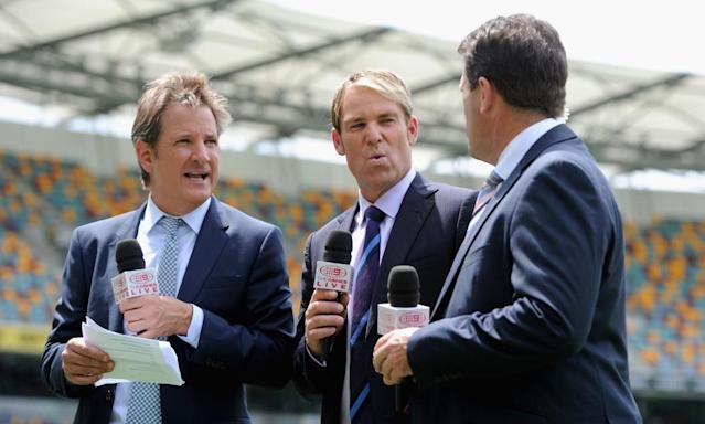 """<span class=""""element-image__caption"""">Channel Nine have shown official international cricket to Australian audiences since 1979.</span> <span class=""""element-image__credit"""">Photograph: Gareth Copley/Getty Images</span>"""