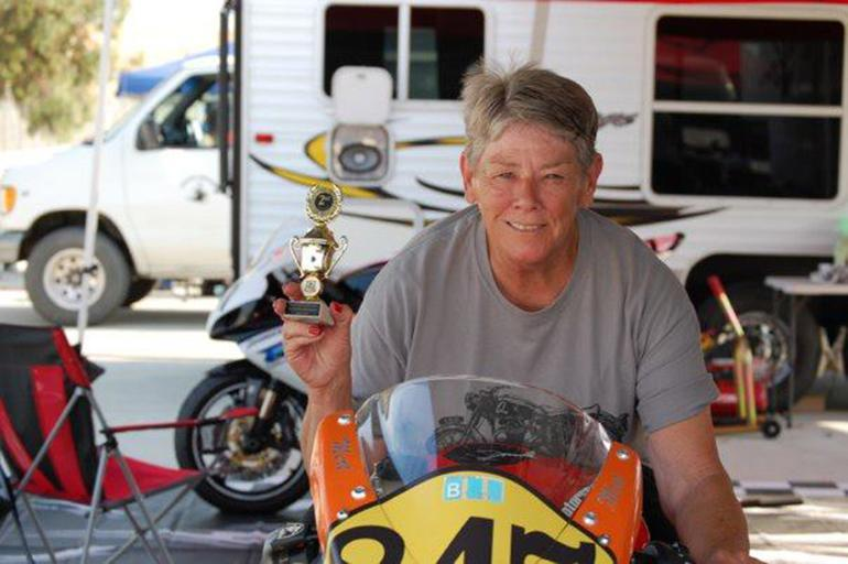 Mardelle Women of motorcycle racing
