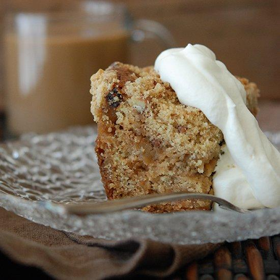 "<p>Caramelized apples and pecan-laced streusel make Andrew Zimmern's lightly spiced crumb cake totally irresistible.</p><p><a href=""https://www.foodandwine.com/recipes/apple-raisin-crumb-cake"">GO TO RECIPE</a></p>"