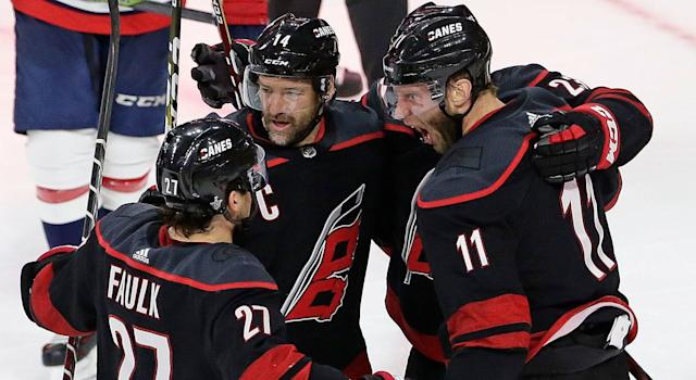 Justin Williams is Captain Clutch. (Gerry Broome/AP)