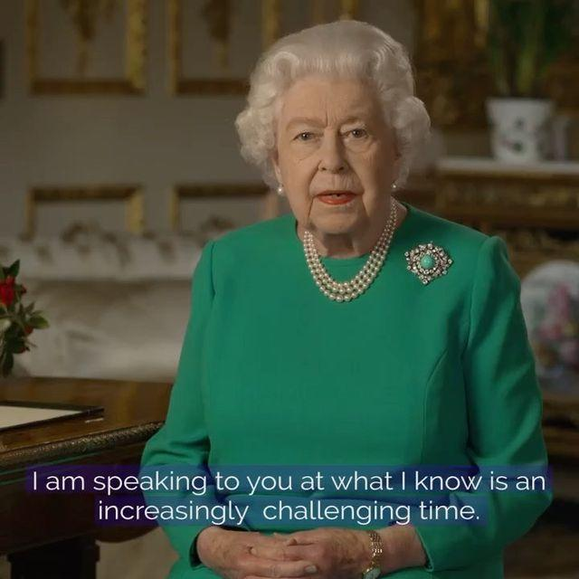 "<p>In a rare move - one that has only been done four times for the monarch - the Queen delivered a speech to the country amid the Coronavirus pandemic. </p><p>Speaking from Windsor Castle in a pre-recorded message where only one camera person wearing protective clothing was present, the Queen rallied the country saying we will 'succeed' in overcoming Covid-19 and thanked NHS staff and key workers for their tireless sacrifice. </p><p>One of the most stirring comments was one of hope from the 93-year-old Queen: 'We should take comfort that while we may have more still to endure, better days will return: we will be with our friends again; we will be with our families again; we will meet again.'<br><br>The speech was watched by 24 million viewers, according to reports.</p><p><a href=""https://www.instagram.com/p/B-nDQbJHOmv/"" rel=""nofollow noopener"" target=""_blank"" data-ylk=""slk:See the original post on Instagram"" class=""link rapid-noclick-resp"">See the original post on Instagram</a></p>"