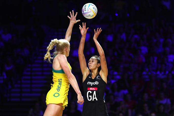 The 2019 Netball World Cup final between Australia and New Zealand.