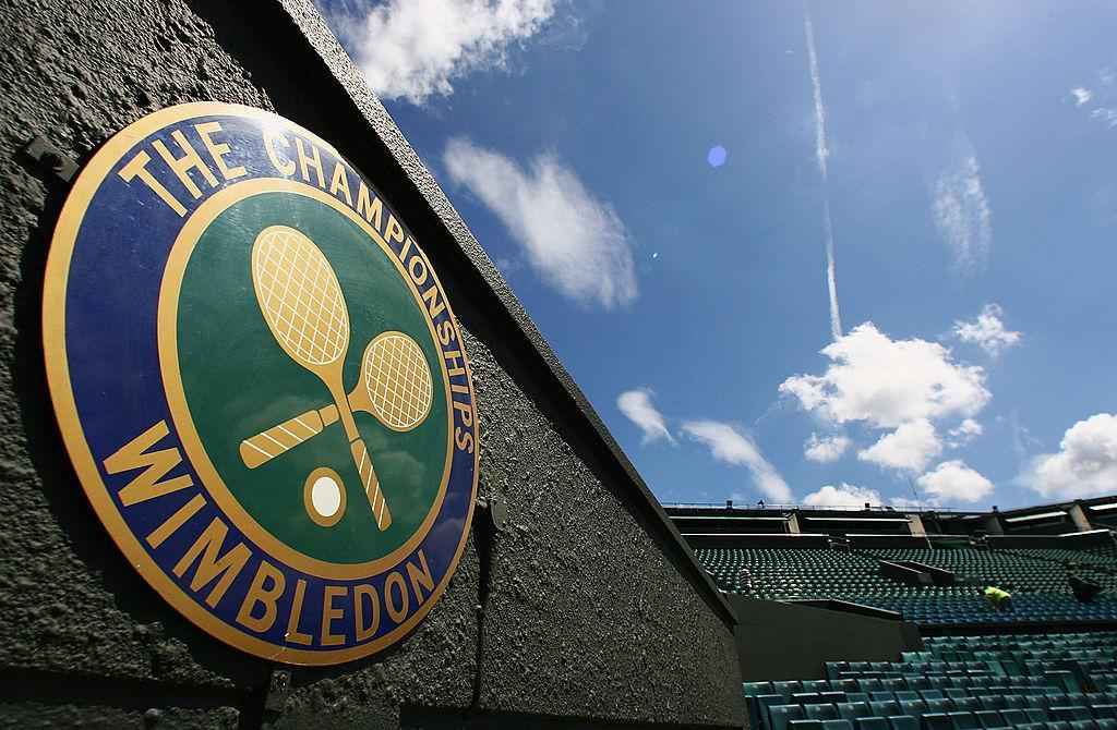 Wimbledon returns today after two years. (Getty Images)