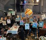 """<p>If you've got a creative crew, this may hit the spot. The Paint Club will sort out a venue (or travel to a location of your choice within 80 miles of Sussex) and teach you all how to paint (materials provided) while also supplying cocktails. Friends, booze and a great (possibly, unless you hit the Prosecco too hard) picture to take home and remind you of the hen, genius.</p><p>Prices dependent on group size.</p><p><a class=""""link rapid-noclick-resp"""" href=""""https://www.thepaintclub.co.uk/private-parties"""" rel=""""nofollow noopener"""" target=""""_blank"""" data-ylk=""""slk:BOOK HERE"""">BOOK HERE</a></p><p><a href=""""https://www.instagram.com/p/B9AY3z2n-ga/"""" rel=""""nofollow noopener"""" target=""""_blank"""" data-ylk=""""slk:See the original post on Instagram"""" class=""""link rapid-noclick-resp"""">See the original post on Instagram</a></p>"""