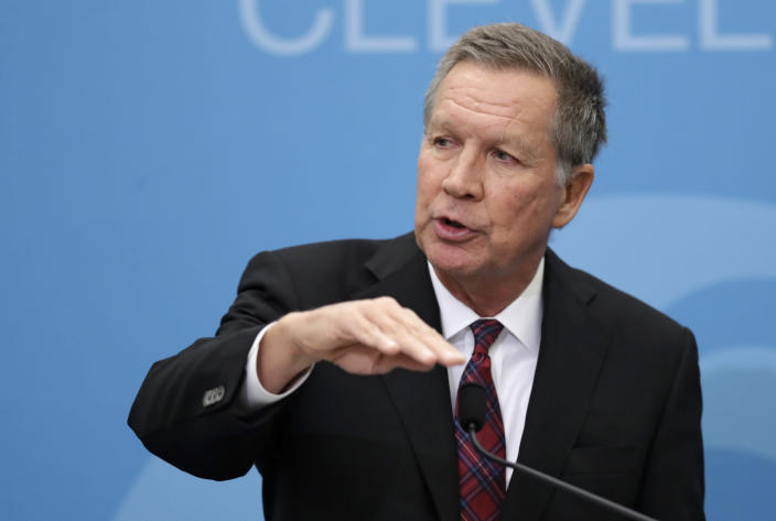 Former Ohio Gov. John Kasich is considering another run for the presidency in 2020. (Photo: Tony Dejak/AP)