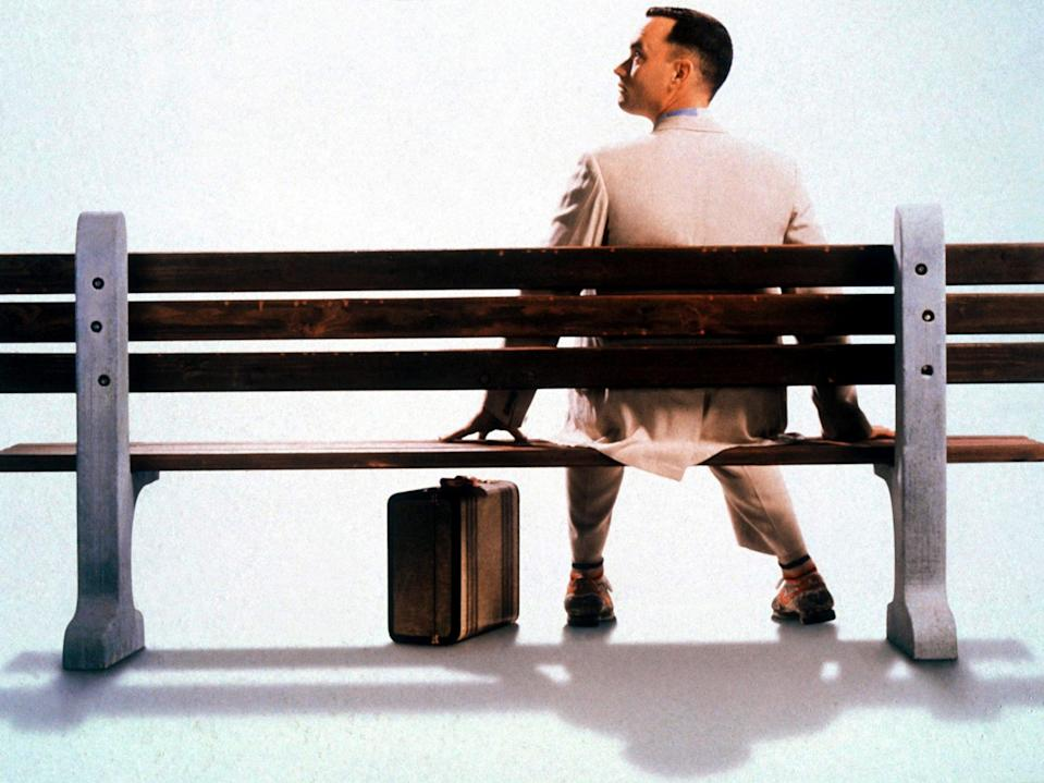 Tom Hanks in 'Forrest Gump'Paramount/Kobal/Shutterstock
