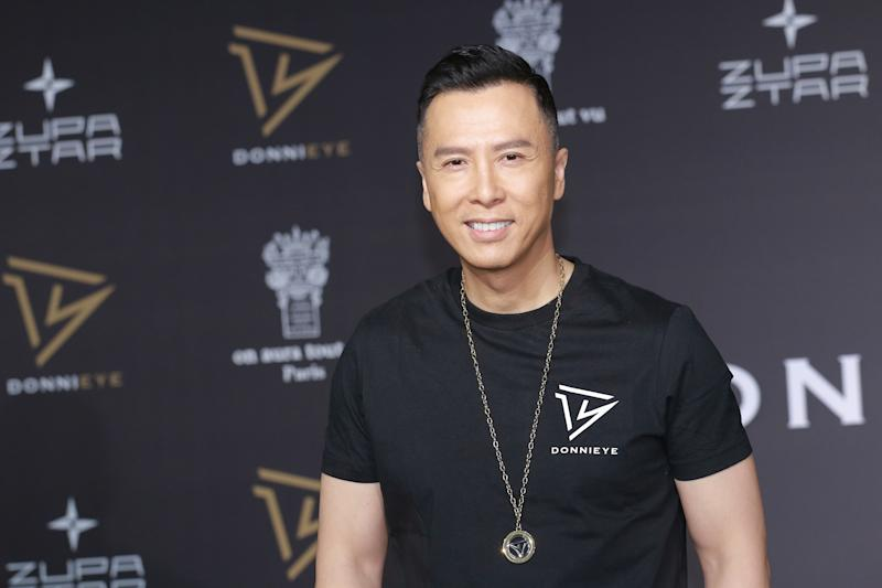 HONG KONG, CHINA - OCTOBER 25: Actor Donnie Yen attends Sunglasses brand DonniEYE launch event on October 25, 2018 in Hong Kong, China. (Photo by Visual China Group via Getty Images/Visual China Group via Getty Images)