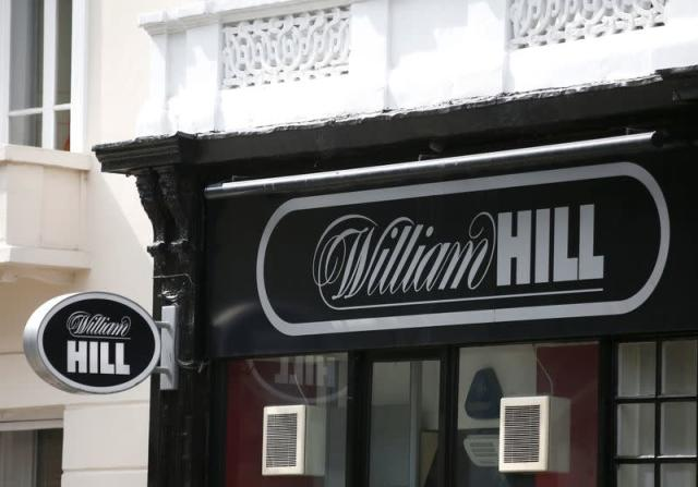 File photo of a William Hill bookmaker store in London