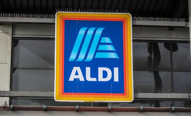 photo of an Aldi store in Marsh Lane Bootle, Liverpool.