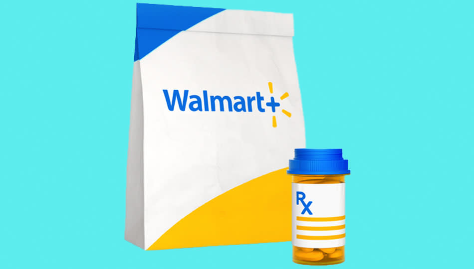 Walmart+ lets you have your prescriptions for up to 85 percent off — or for $0, in some cases! (Photo: Walmart.com)