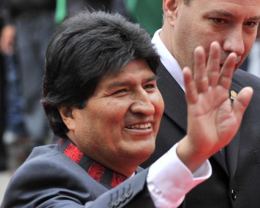 Bolivia's Morales sworn in for third term as president