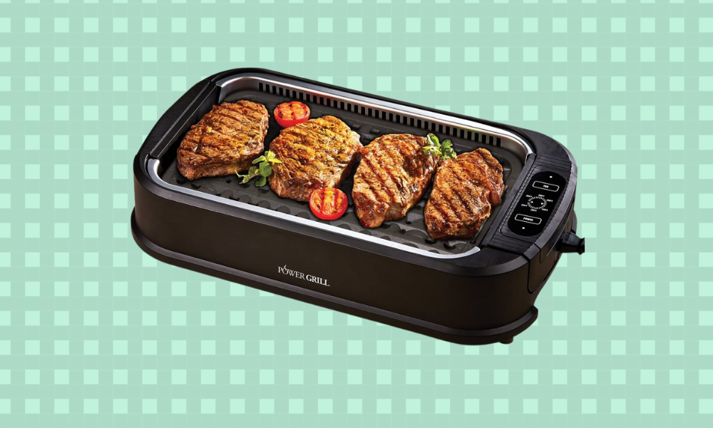 This indoor grill is a bad weather BBQ-saver. (Photo: Amazon)
