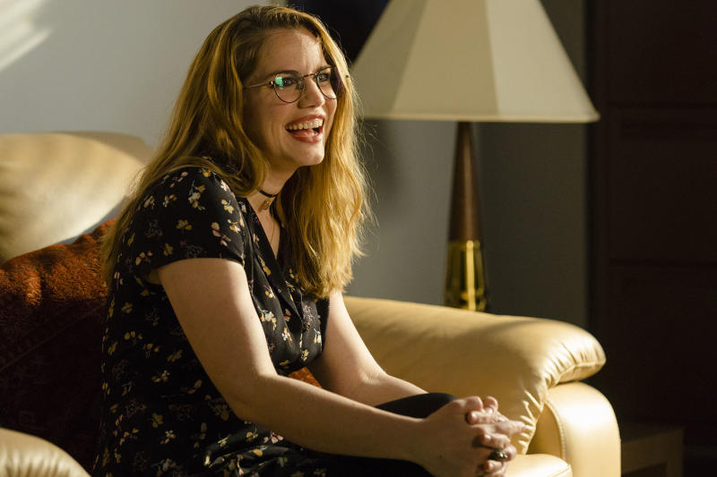 Anna Chlumsky as Katie Herman in 'Halt and Catch Fire' (Photo: Bob Mahoney/AMC)