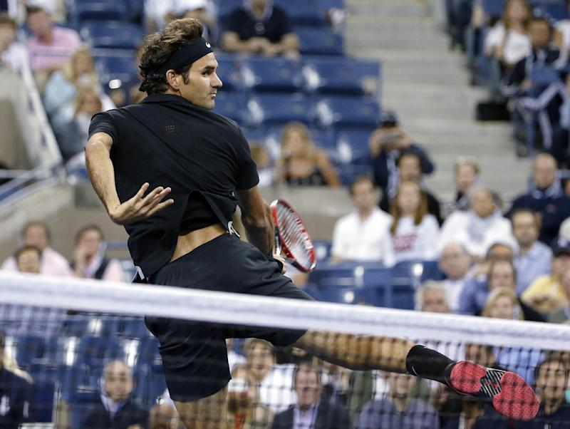 Many happy returns for Roger Federer at US Open