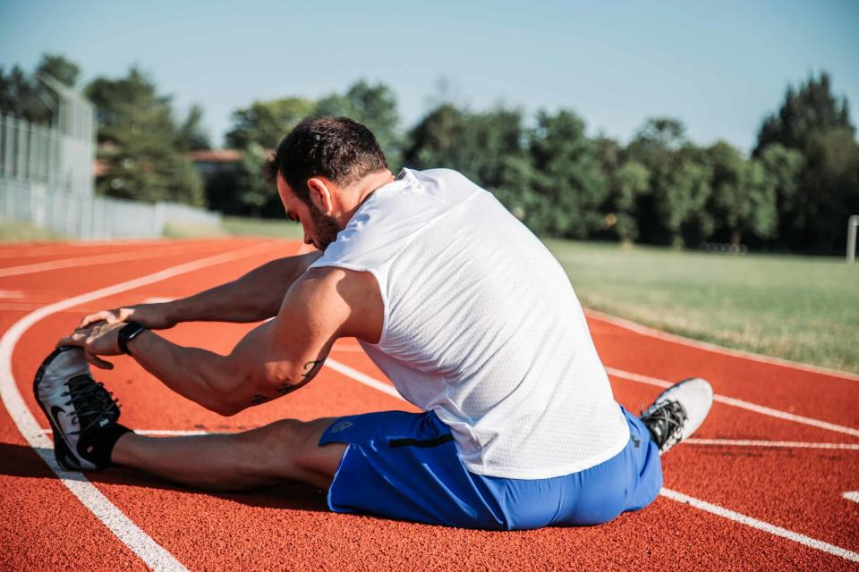 What are static stretching exercises?
