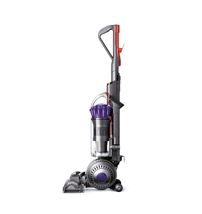 """The technology of this vacuum is advanced enough to automatically raise and lower itself across all floor types. What's more, its filtration system ensures that allergens and bacteria are trapped within, not expelled back into the home. $350, Target. <a href=""""https://www.target.com/p/dyson-slim-ball-animal-upright-vacuum/-/A-76578376"""" rel=""""nofollow noopener"""" target=""""_blank"""" data-ylk=""""slk:Get it now!"""" class=""""link rapid-noclick-resp"""">Get it now!</a>"""