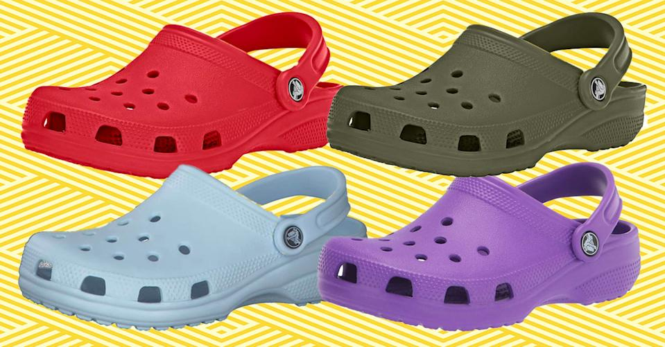 Crocs are tried-and-true best-sellers — and they're on sale. (Photo: Amazon)