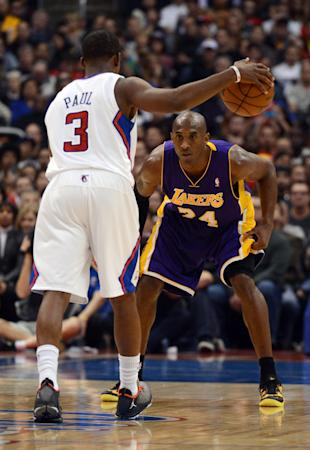 3c7d4832874fd7 Kobe and CP3 imagine Lakers titles if not for  basketball reasons