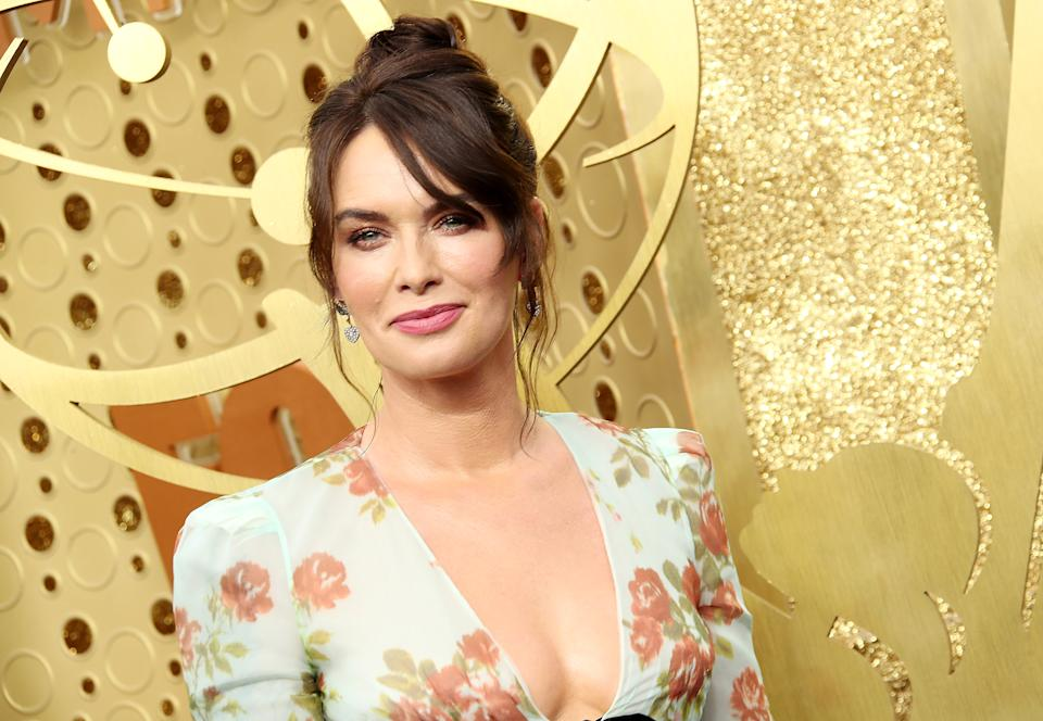 LOS ANGELES, CA - SEPTEMBER 22: Lena Headey attends the 71st Emmy Awards at Microsoft Theater on September 22, 2019 in Los Angeles, California. (Photo by Dan MacMedan/WireImage)