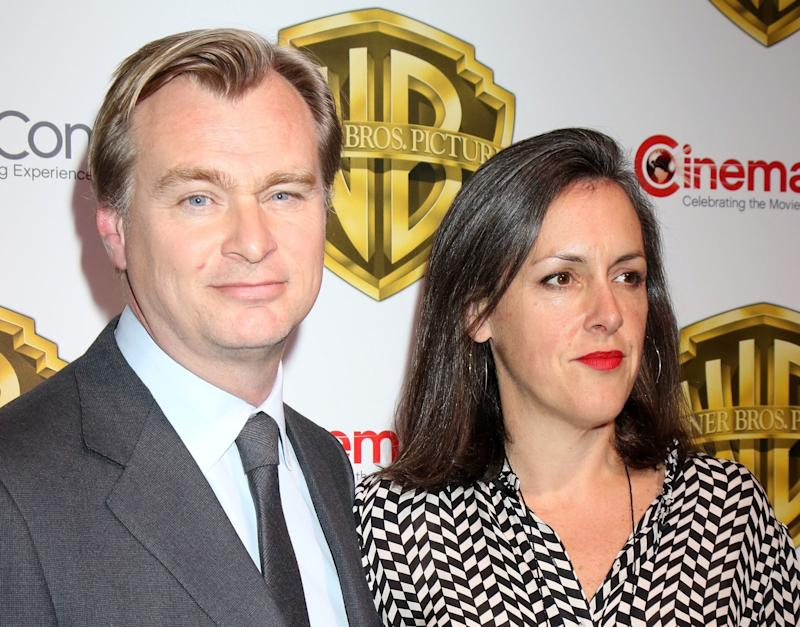 Husband and wife producers Christopher Nolan and Emma Thomas (credit: WENN)