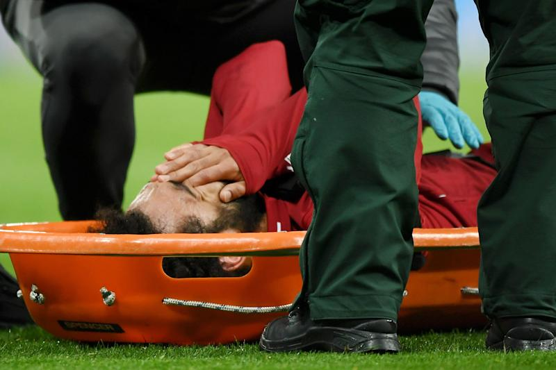Salah ruled out for Barcelona visit with concussion