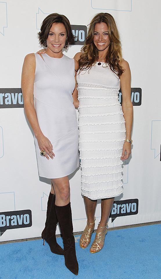 "Two more New Yorkers, Countess LuAnn de Lesseps and Kelly Bensimon, played nice in front of the cameras. Mark Von Holden/<a href=""http://www.wireimage.com"" target=""new"">WireImage.com</a> - March 10, 2010"