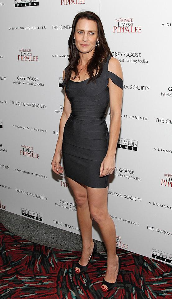 "<a href=""http://movies.yahoo.com/movie/contributor/1800019047"">Robin Wright Penn</a> at the New York City Cinema Society screening of <a href=""http://movies.yahoo.com/movie/1810025242/info"">The Private Lives of Pippa Lee</a> - 11/15/2009"