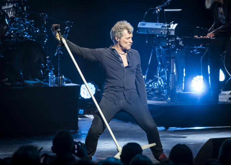 Bon Jovi announce first UK tour in six years