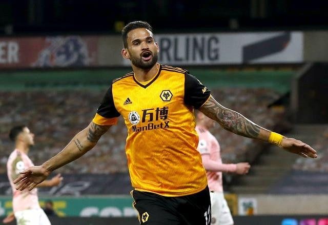 Willian Jose scored his first Wolves goal against Sheffield United