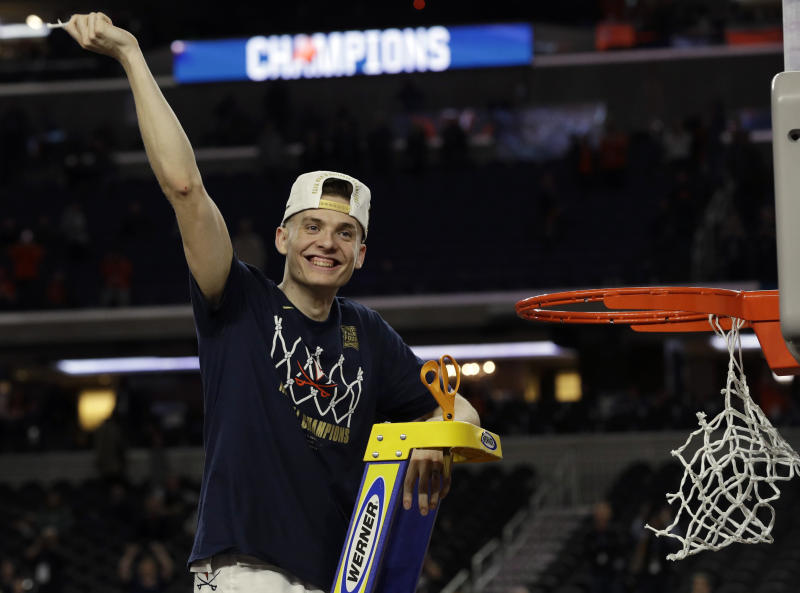 check out ab472 290c3 Virginia  39 s Guy entering NBA draft, could return to school