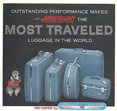 """""""Smarter, lighter, stronger"""" was the slogan - Credit: American Tourister"""