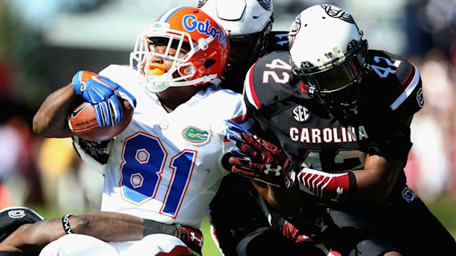 Callaway caught 35 passes for 678 yards (a true freshman record) and four touchdowns last season.