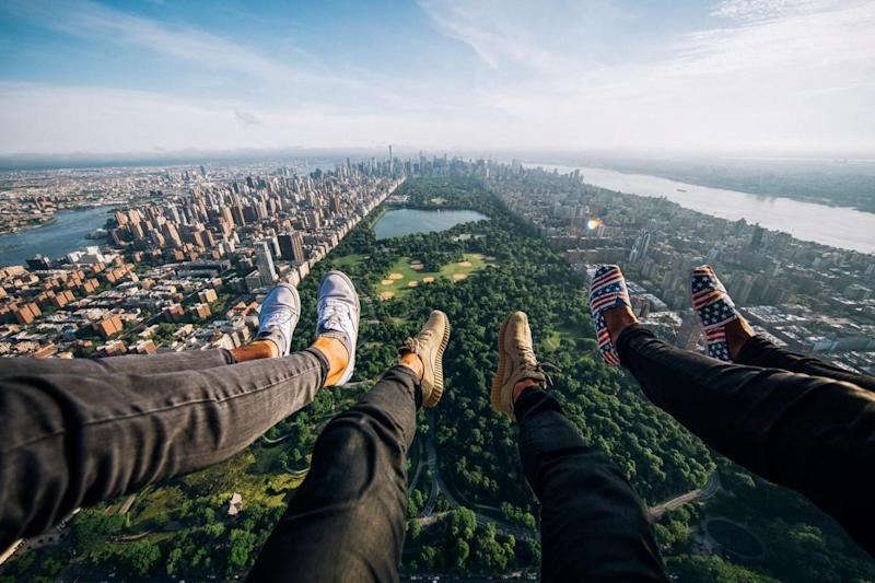 Hanging out in Central Park, New York (Beautiful Destinations)