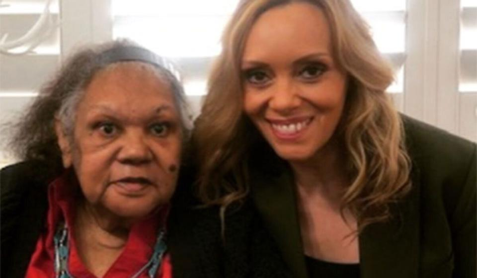 """""""It's really sad, she's 76 in a couple of weeks time and I don't know if we're going to be able to go in and see her at all. We're going to be singing happy birthday over the telephone."""" (Photo: Karla Grant Instagram)"""