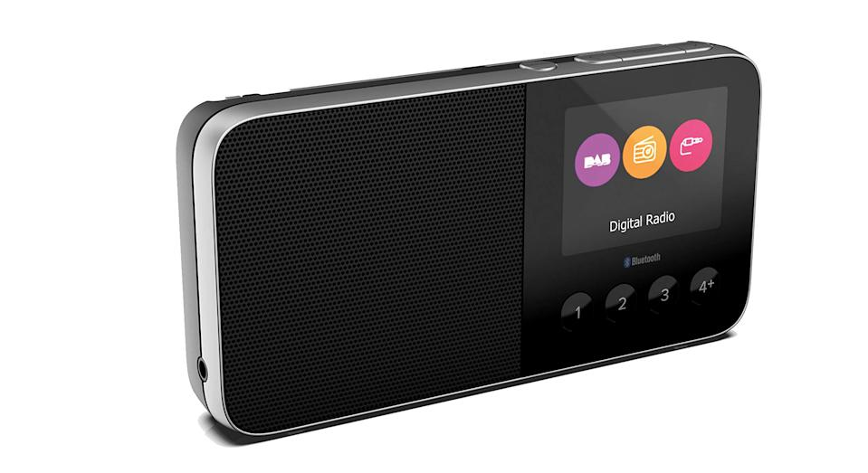 """Built for the great outdoors, this handy pocket radio is compact, easy-to-hold and features a DAB, FM radio and bluetooth. It also boasts up to 22 hours of listening playback with headphones, or 15 hours via the integrated speaker allowing you to stay connected wherever you are. <a href=""""https://www.amazon.co.uk/Pure-Move-T4-Rechargeable-Bluetooth/dp/B079H1J2C1?tag=yahooukedit-21 """" rel=""""nofollow noopener"""" target=""""_blank"""" data-ylk=""""slk:Shop now"""" class=""""link rapid-noclick-resp""""><strong>Shop now</strong></a><strong>.</strong>"""